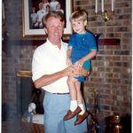 Wayne and his grandson Thomas 1993