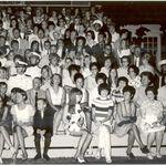 2 JULY 1971, MARINE CORPS BARRACKS WASHINGTON, D.C. EVENING PARADE...MALINDA BABB WITH KENNETH AND BERNICE BABB AND BILL AND MARIAN BANGS