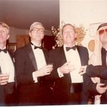 Wayne with friends at a Black Tie Dinner Party, Alexandria, VA 1984