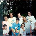 Babb Vaughn Melton Family Reunion, Brevard NC, 1995
