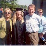Irina, Kim and Wayne at Mount Olive College Graduation, Mount Olive NC, 2006