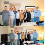 on the way to a Carolina Bowl game...Go Heels...Gary, Wayne, Jim, Aggie, Marilyn, Brenda, Kelly, Becky and John