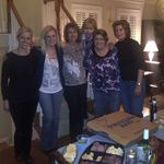Friday evening after Wayne's passing at Wayne's home in Alexandria VA...Irina, Kim, Trish, (Davine not pictured), Neda, Karen, Michelle and (Trish Lese not pictured).