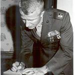 CAPT WAYNE BABB AT MARINE BARRACKS WASHINGTON, D.C. 17 DEC 1971