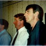 The Distinguished Babb Nose...David, Wayne and Gary in 1995