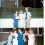 TC Williams HS Graduation...Wayne, Joyce, Kim, Trish, Kelly Ivers, Rachel Turner, Liz Elsberry and Becky Annear, June 1985