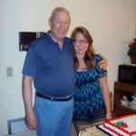 Naomi and Gramps at her 17th birthday