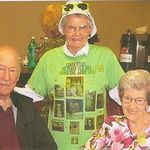 Feb 15, 2012 Celebrating Clara's 90th birthday at covered dish lunch with the Sunshine group at church.