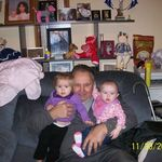 jim and grand girls ella and aralynn