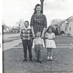 Don Wallace, Carole Wallace, Karen Wallace Hofmann, Greg Wallace (front) 1964