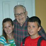 w/ great grandpa Knopp & Jon