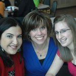 Emily, Kelly, and Victoria. Taken on Nicki Green's ordination day.