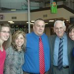 Emily with Nicki Green, Keith, Grampa Odom, and Kelly.