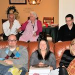 What's going on with Lindsey. George Knopp, Dorothy Knopp, Andy Knopp, Justin Young, and Lindsey Knopp.