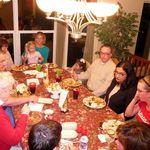 Thanksgiving 2009, Gloria Knopp, Keith Herberger, Peggy Knopp, Anna Mattern, Ashlee Nichol, John & Victoria Herberger, and Emily