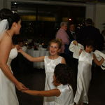 Dancing the night away at Uncle John and Aunt Victoria's wedding