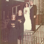 Alene was my Maid of Honor at my wedding in 1971.  Alene was so talented, she designed and sewed her dress and my bridesmaid's dress...Again, she looked beautiful...it was wonderful to have my childhood friend at my side...