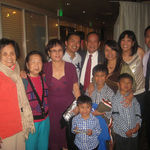 Mommy and family at Andy&#39;s surprise 50th birthday March 3, 2012