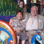 Linda and John on the Oasis of the Seas