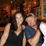 This is Gary and Laurie at Bucca for Tosha's birthday 2011