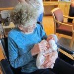 "Great Great Grandma ""D"" and Alexander"