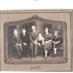 Erwin, Rita, Wilmer, Cyril, Roseanne, and Elroy in 1935..