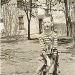 Jimmy as a boy