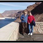 Dewey and Bob Collins - Las Vegas trip.