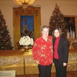 Visiting the White House at Christmas time