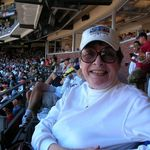 Mary  Ellen ,attending a Cubs Game at Pac bell park in S.F..She had on  a  All  Star cap  ,which she wantted to swap with a Cub&#39;s fan ,who said &quot;No Way&quot;..Walt