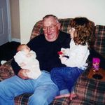 Bobby Jr., grandpa and Angelica