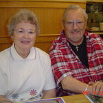 Sister Dorothy Grossman and Jack on his birthday in 2007.