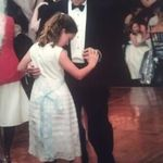 Dancing with daughter at a wedding party