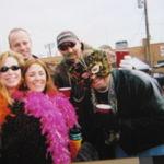 Mardi Gras~  Greg Booth,Tina Needham, Carlina Byrne,,Jeff Witt, Dave Cullinan