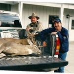 One of many hunting trips in Iowa. God Bless him.