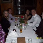 Rose, Dad, Amber,Griffin and Pat at Steiny's on Griffin's 18th B-day
