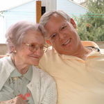 Alan and Mom - Thelda