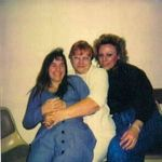 Mom, Kathy and Samantha