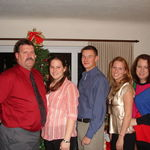 Family Christmas in Sidney, NE where Paul was raised.