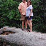 Paul and Lisa in Chadron State Park, summer 2012