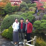 A quite visit to the Japanese garden with mom and dad.
