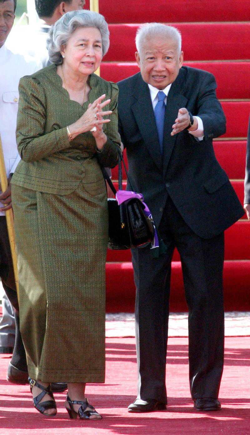 Norodom Sihanouk norodom monineath