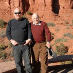 Raphael and his Son.  Sedona 2008