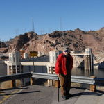 Raphael at the Hoover Dam. 2008