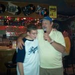 "Uncle Carmine singing ""My Girl"" to his nephew James. James loved that song..."