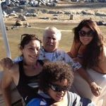 YVETTE, TERRY, BO, GINA AT BASS LAKE PICNIC