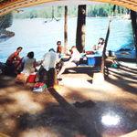 Family Having fun at the lake
