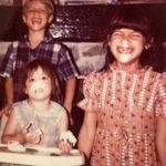 CHRIS, YVETTE, GINA 1971