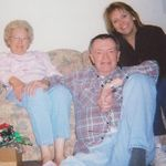 Kathy, Norm & Debbie Christmas