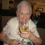 Mary's 86th birthday celebration at Olive Garden Restaurant on June 15, 2012.